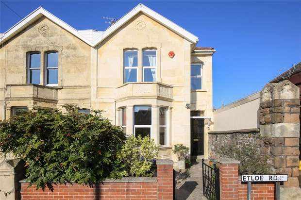3 Bedrooms End Of Terrace House for sale in Etloe Road, Bristol