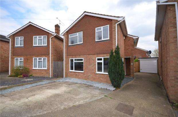 4 Bedrooms Detached House for sale in Powis Close, Maidenhead, Berkshire