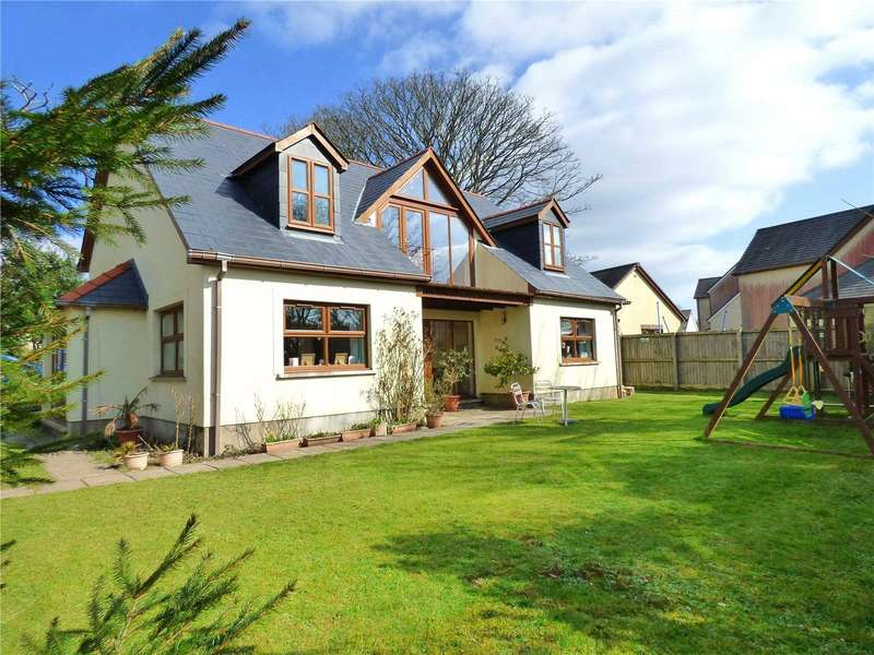 4 Bedrooms Detached House for sale in Rhodewood, Fosse Way, Cosheston, Pembroke Dock