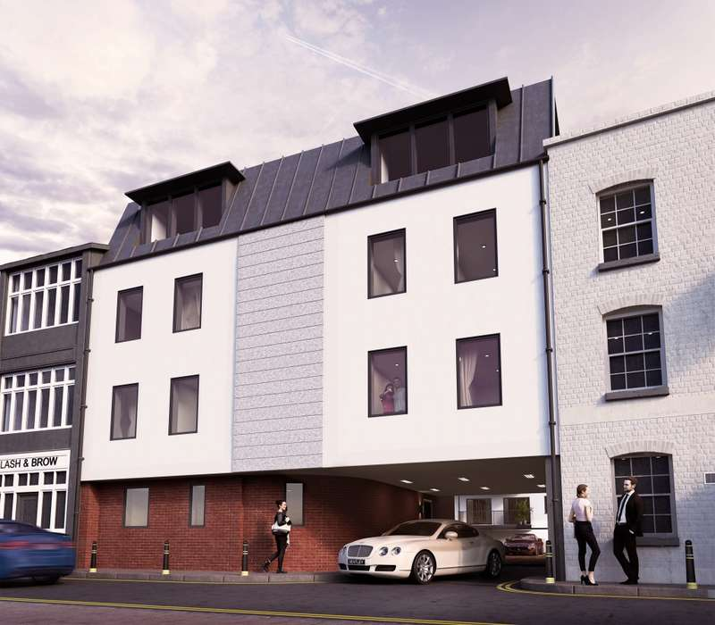 1 Bedroom Flat for sale in Plot 16 Alban House, High Town, Hereford, Herefordshire, HR1 2AB