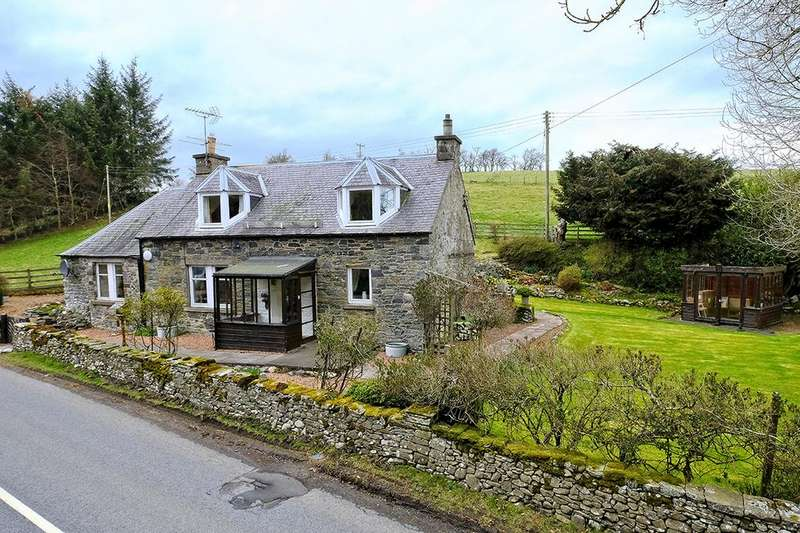 3 Bedrooms Detached House for sale in Braehead Cottage, Yarrow, Selkirk TD7 5LB