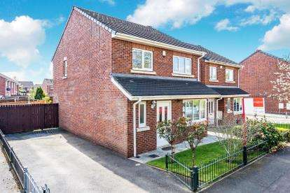 4 Bedrooms Detached House for sale in Lysander Drive, Padgate, Warrington, Cheshire
