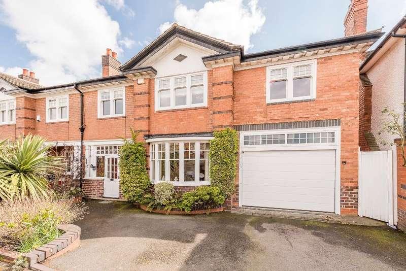 5 Bedrooms Semi Detached House for sale in Crosbie Road, Harborne, Birmingham, B17 9BE