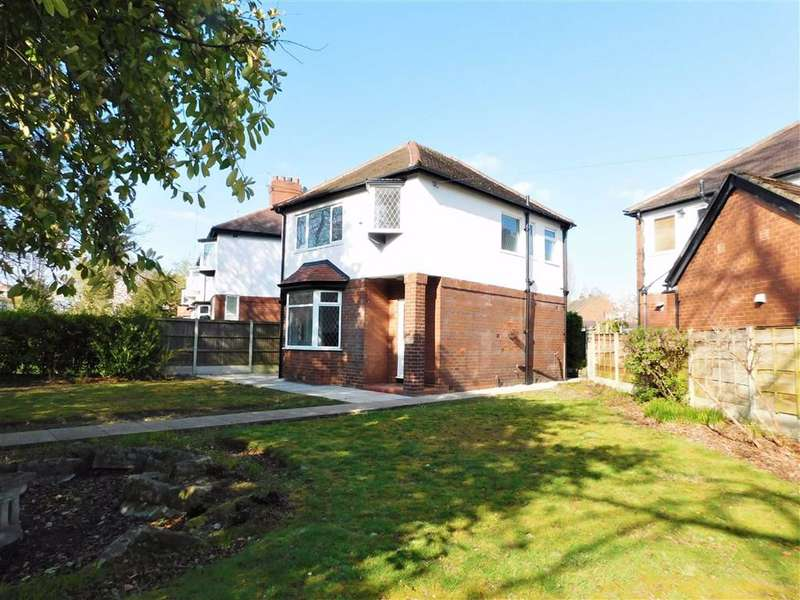 3 Bedrooms Detached House for sale in Bramhall Lane, Davenport, Stockport