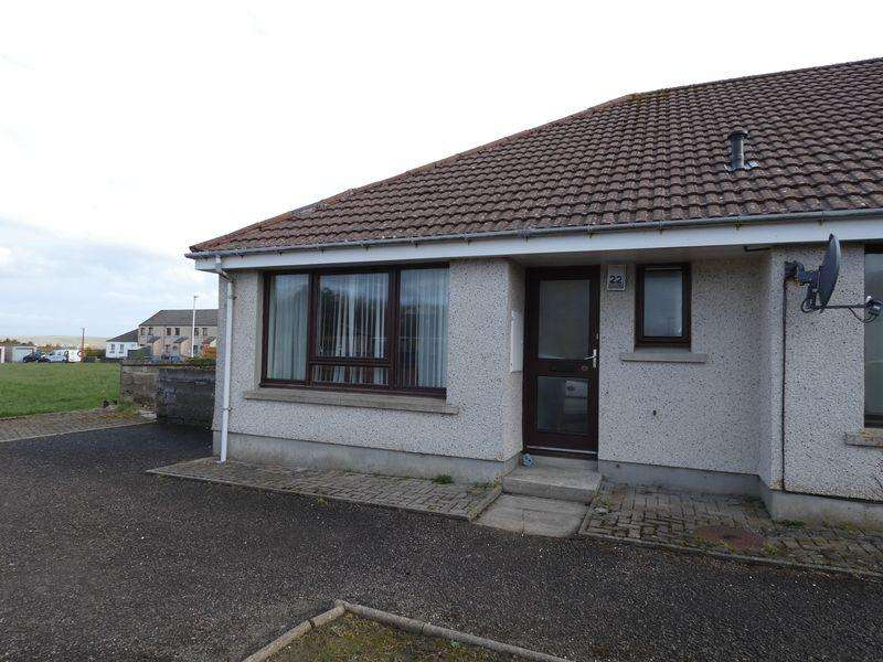 1 Bedroom Semi Detached Bungalow for sale in 22 Henderson Street, Thurso