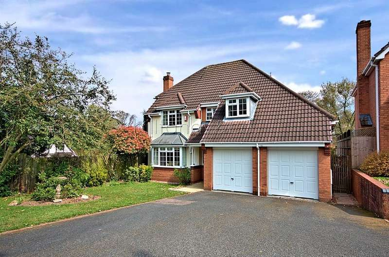 4 Bedrooms Detached House for sale in Trevithick Close, BURNTWOOD, WS7