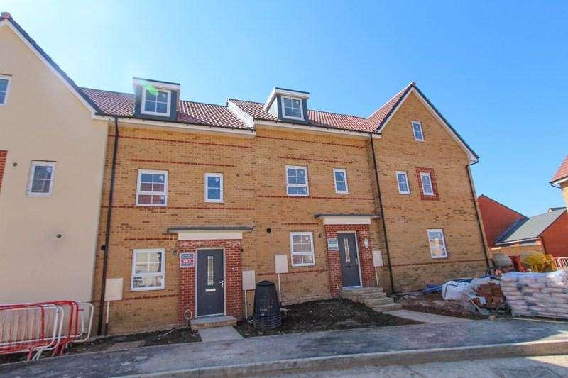 4 Bedrooms Terraced House for sale in Bilbie Green, Keynsham, Bristol