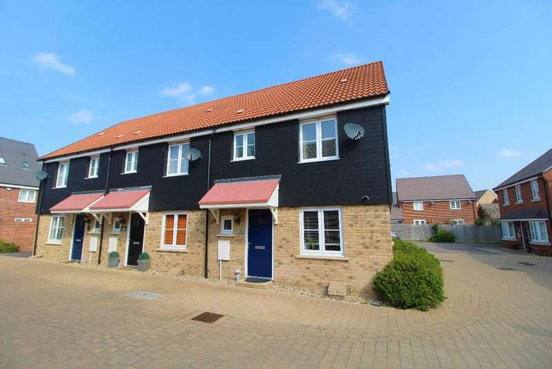 3 Bedrooms End Of Terrace House for sale in Partridge Place, Wixams, Bedfordshire, MK42