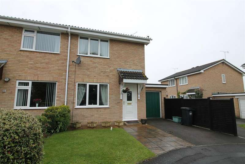 2 Bedrooms Semi Detached House for sale in Rowan Close, Nailsea, North Somerset, BS18 1QY