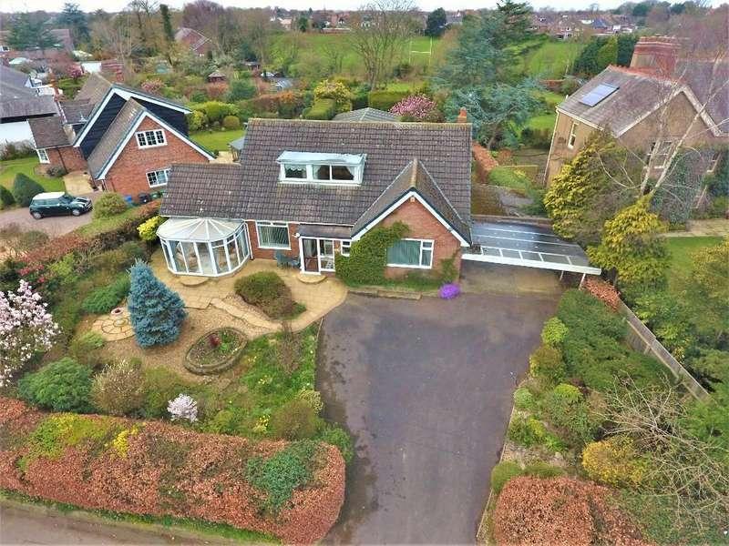 4 Bedrooms Detached Bungalow for sale in Little Poulton Lane, Poulton, Poulton-Le-Fylde, Lancashire, FY6 7ET