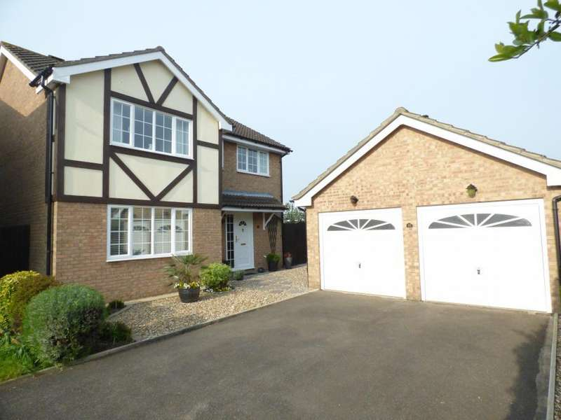 4 Bedrooms Detached House for sale in Kempston, Beds, MK42 7SG