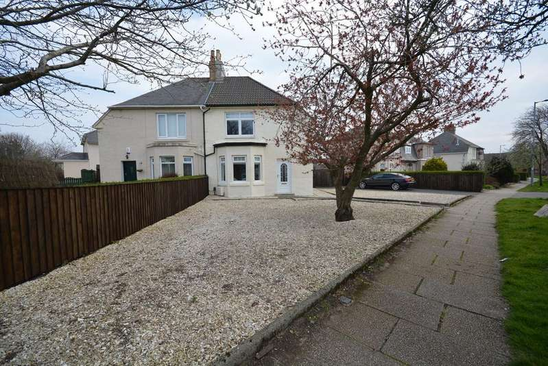 3 Bedrooms Semi Detached House for sale in Barbadoes Road, Kilmarnock, KA1