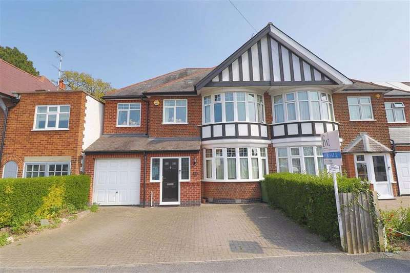 4 Bedrooms Semi Detached House for sale in Carisbrooke Road, Knighton, Leicester, Leicestershire