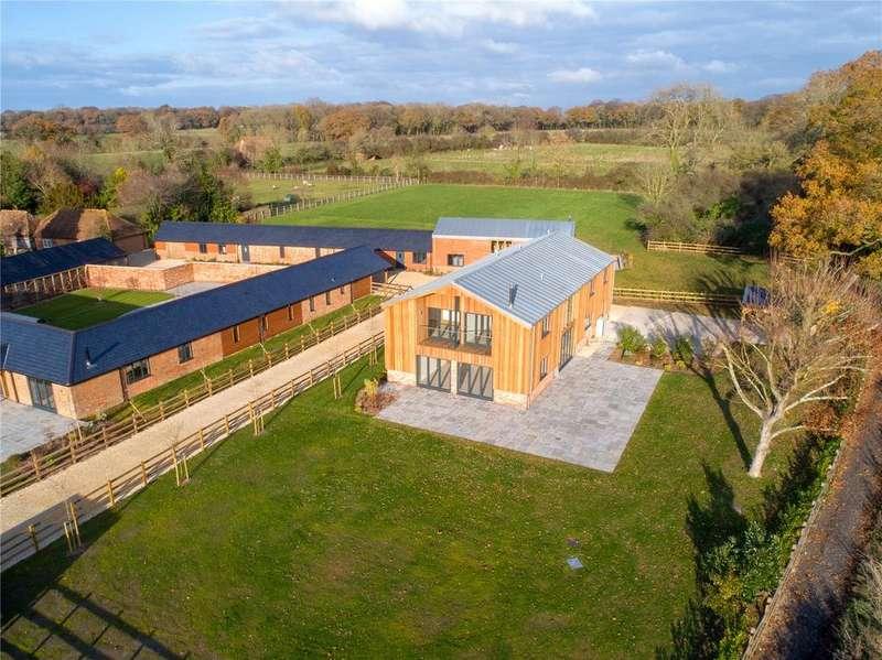 4 Bedrooms Unique Property for sale in Upper Eldon Barn, Kings Somborne, Stockbridge, Hampshire, SO20