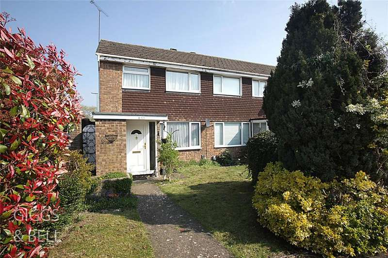 3 Bedrooms End Of Terrace House for sale in Suncote Avenue, Dunstable, Bedfordshire, LU6
