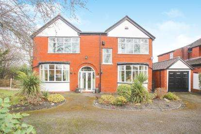4 Bedrooms Detached House for sale in Bolshaw Road, Heald Green, Cheadle, Cheshire