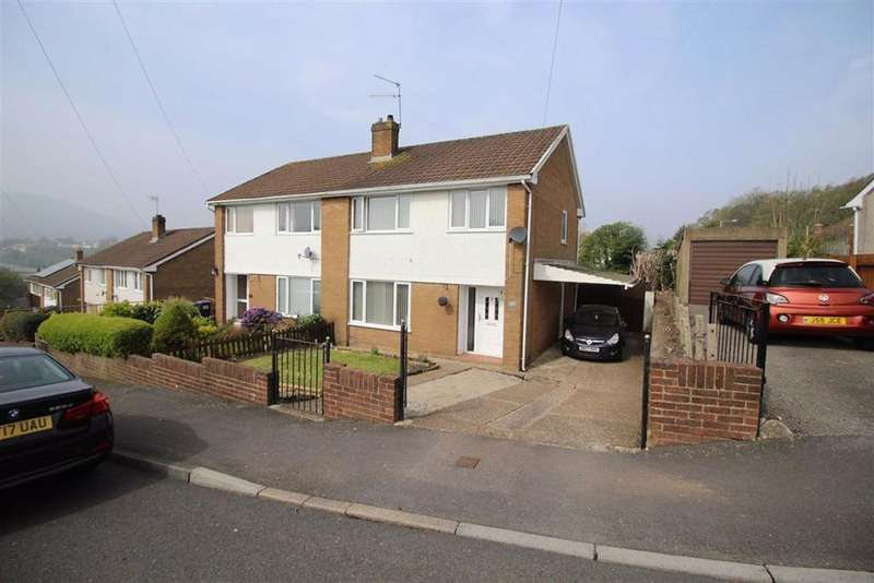 3 Bedrooms Semi Detached House for sale in St Davids Close, Pontypool