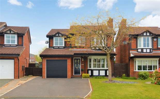 4 Bedrooms Detached House for sale in Underwood Close, Macclesfield, Cheshire