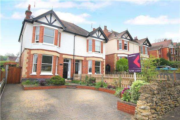 4 Bedrooms Semi Detached House for sale in Old Bath Road, CHELTENHAM, Gloucestershire, GL53 9AF