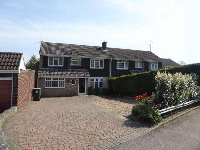 5 Bedrooms Semi Detached House for sale in Canesworde Road, Dunstable