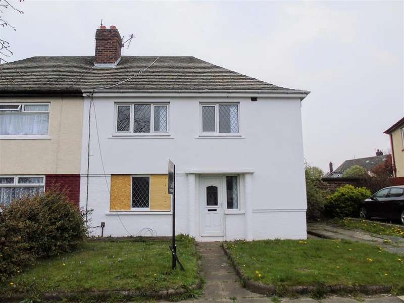 3 Bedrooms Semi Detached House for sale in Harris Drive, Bootle