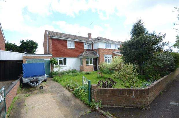 2 Bedrooms Semi Detached House for sale in Fullbrook Crescent, Tilehurst, Reading