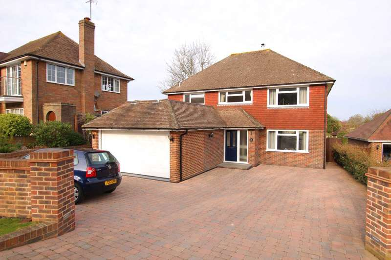 4 Bedrooms Detached House for sale in 52 Upper Ratton Drive, Eastbourne.
