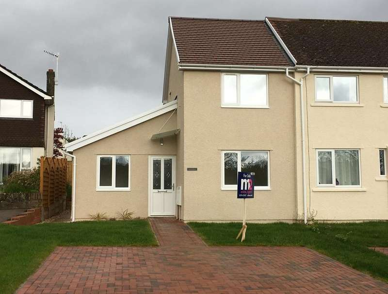 3 Bedrooms End Of Terrace House for sale in Ladyhill, Usk, NP15