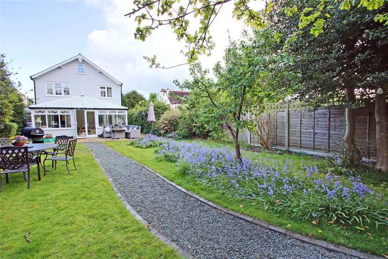 5 Bedrooms Semi Detached House for sale in Dudley Cottages, Simplemarsh Road, Addlestone, Surrey, KT15