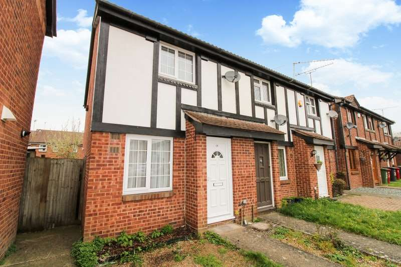 2 Bedrooms End Of Terrace House for sale in Amerden Way, Windsor Meadows, Slough, Berkshire, SL1