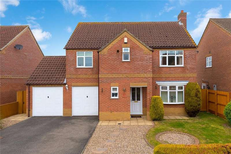 4 Bedrooms Detached House for sale in Field Road, Billinghay, Lincoln, Lincolnshire, LN4