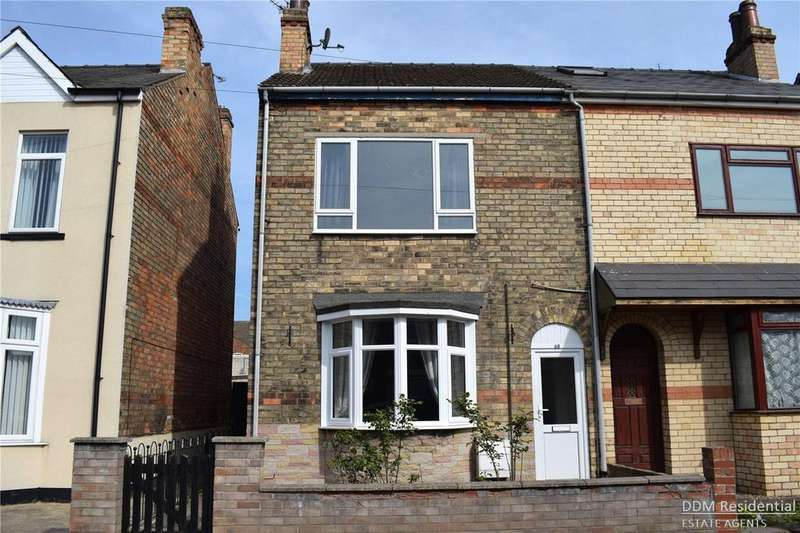 4 Bedrooms Semi Detached House for sale in Nelson Street, Gainsborough, Lincolnshire, DN21