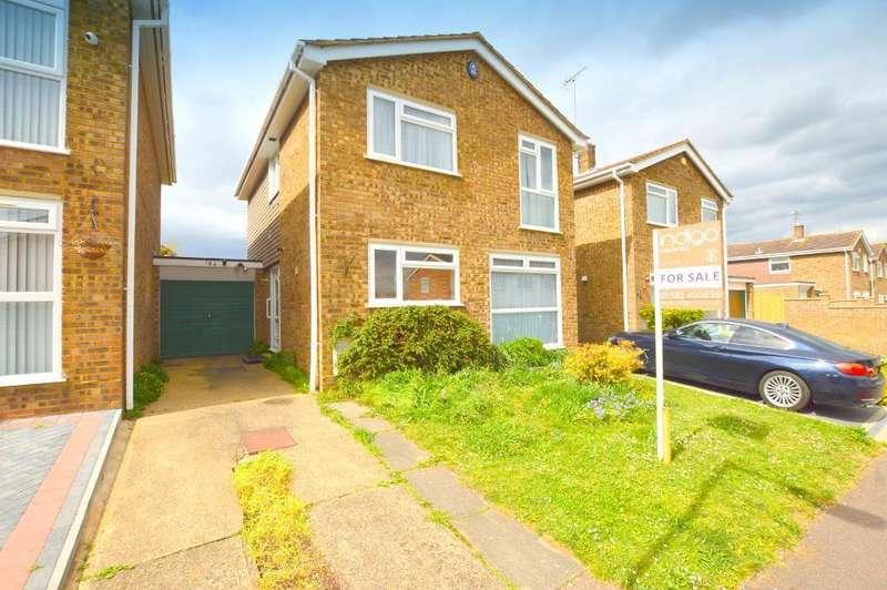 4 Bedrooms Link Detached House for sale in Brompton Close, Bramingham, Luton, Bedfordshire, LU3 3QU