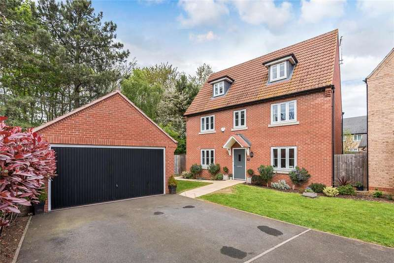 5 Bedrooms Detached House for sale in Troon Court, Greylees, NG34