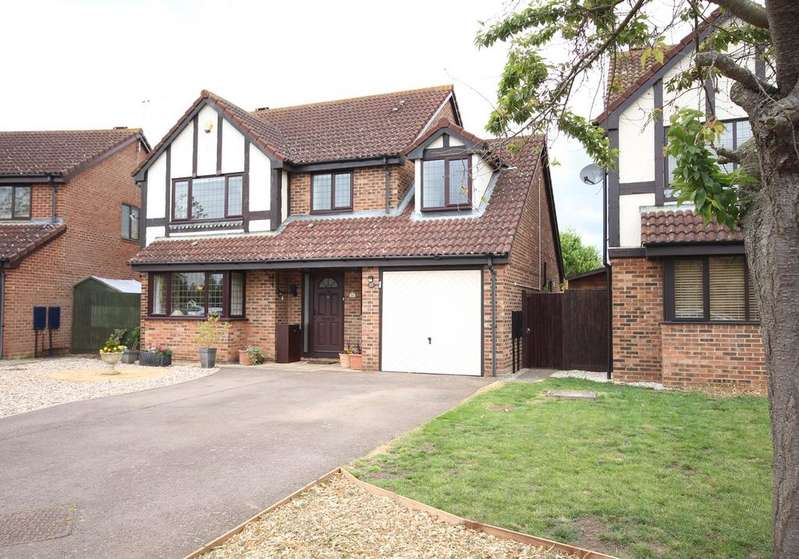 4 Bedrooms Detached House for sale in Plum Tree Road, Lower Stondon, SG16
