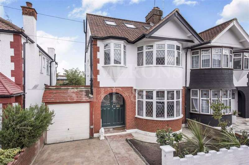 5 Bedrooms Semi Detached House for sale in Kenneth Crescent, Willesden Green, London, NW2