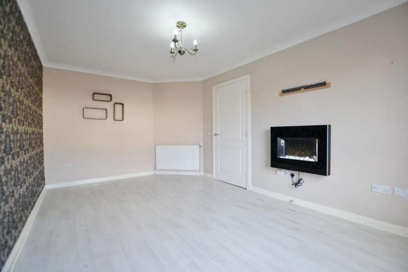 2 Bedrooms Terraced House for sale in Wallace Road, Irvine, North Ayrshire, KA12 0TY
