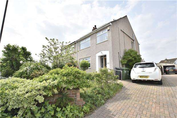 4 Bedrooms Semi Detached House for sale in Shellards Road, Longwell Green, BS30 9DP