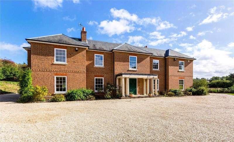 5 Bedrooms Detached House for sale in Weston, Great Shefford, Newbury, Berkshire