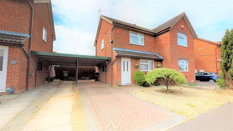 2 Bedrooms Semi Detached House for sale in Minton Close, Whitchurch, Bristol