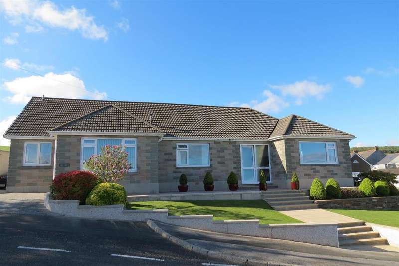 4 Bedrooms Detached Bungalow for sale in Gribben Road, St. Austell