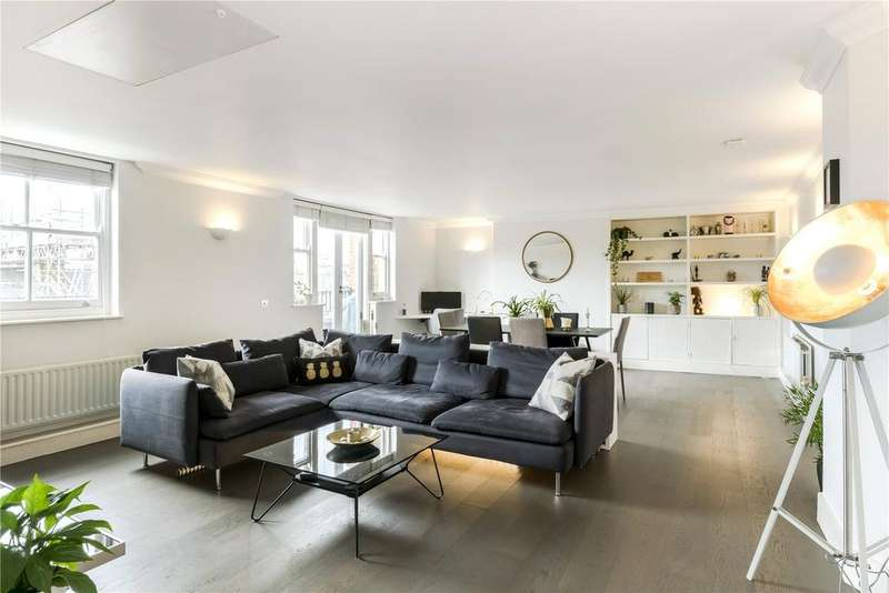 2 Bedrooms Penthouse Flat for sale in Bromells Road, London, SW4