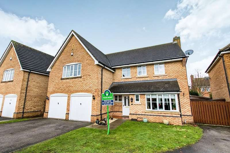 5 Bedrooms Detached House for sale in Dorchester Way, North Hykeham, Lincoln, LN6