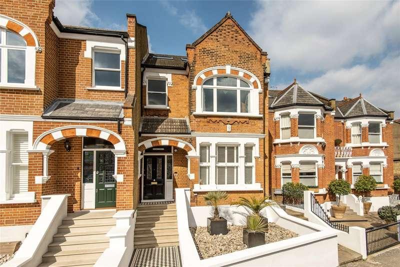 5 Bedrooms Semi Detached House for sale in Bernard Gardens, Wimbledon, London, SW19