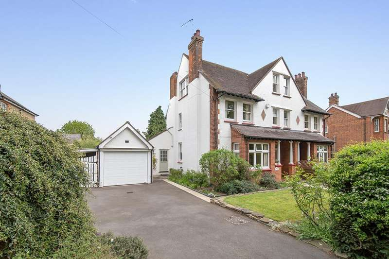 5 Bedrooms Semi Detached House for sale in Church Road, Bengeo, Hertford SG14