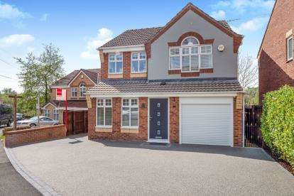 4 Bedrooms Detached House for sale in Alphingate Close, Millbrook, Stalybridge, Greater Manchester
