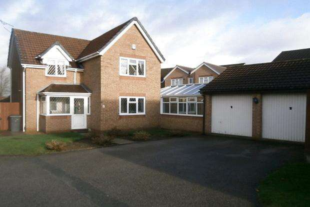 4 Bedrooms Detached House for sale in Elmtree Close, Hamilton, Leicester, LE5
