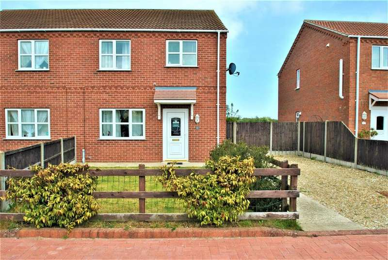 3 Bedrooms Semi Detached House for sale in Mel Marshall Way, Wrangle, Boston