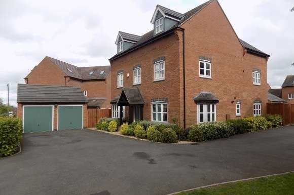 5 Bedrooms Property for sale in Athens Close, Hinckley