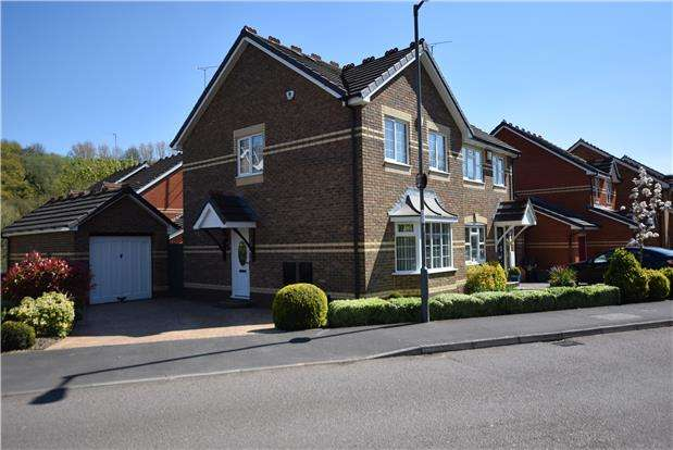 3 Bedrooms Semi Detached House for sale in Robertson Drive, St. Annes Park, BRISTOL, BS4 4RG